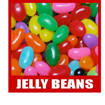 Mixed and Single Color Jelly Beans